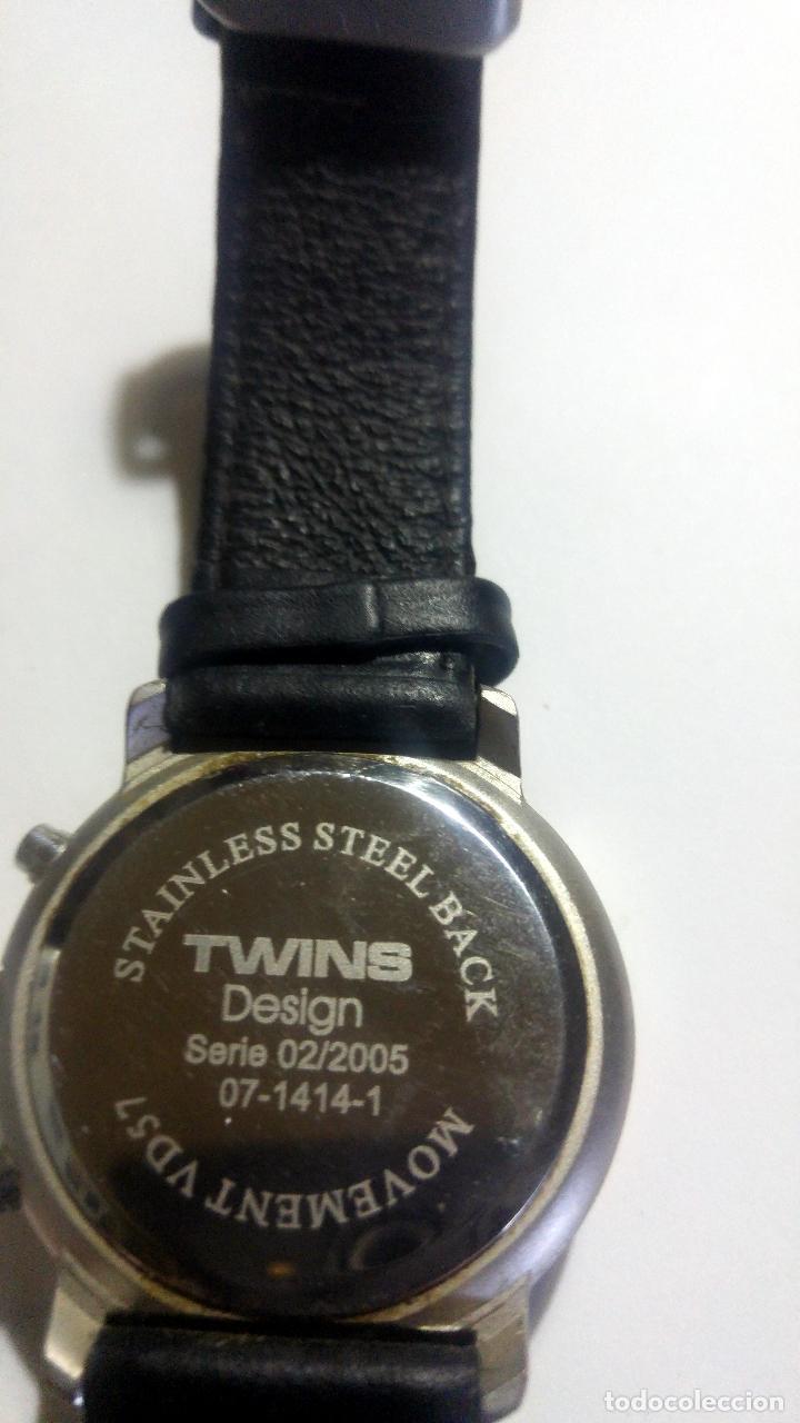 Relojes: Reloj TWINS- Cronógrafo Serie 02/2005 07-1414 - Foto 3 - 194531581