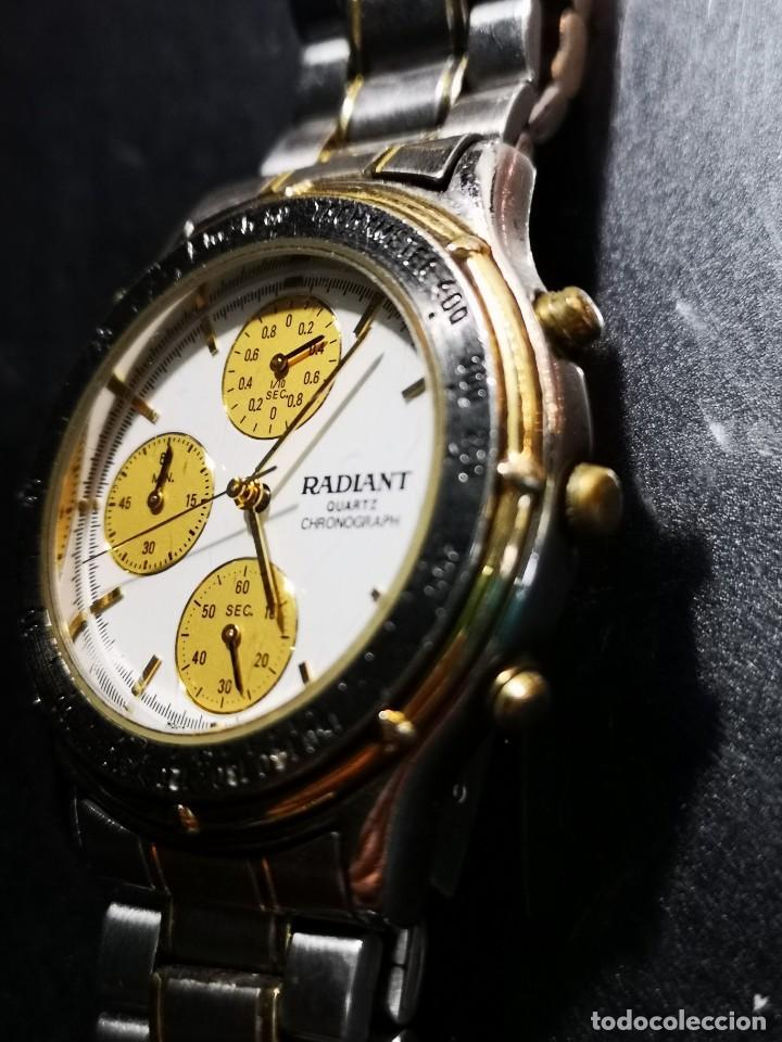 Relojes: reloj radiant kwz014x esfera blanca y amarilla - Foto 2 - 194533820