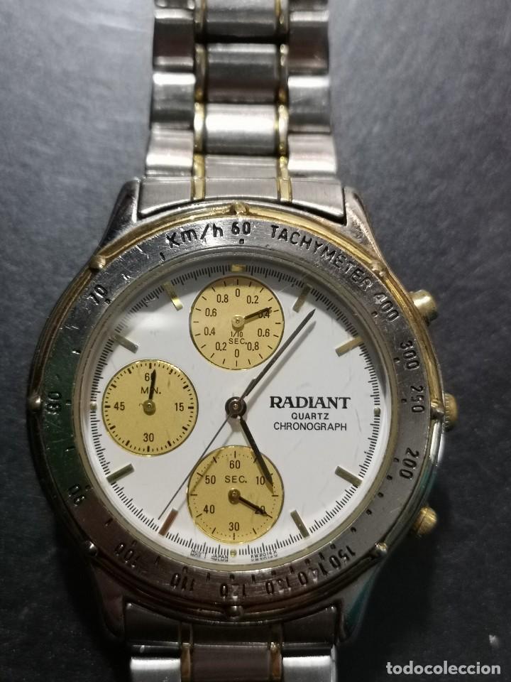 Relojes: reloj radiant kwz014x esfera blanca y amarilla - Foto 3 - 194533820