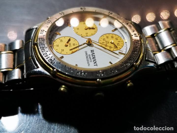 Relojes: reloj radiant kwz014x esfera blanca y amarilla - Foto 4 - 194533820