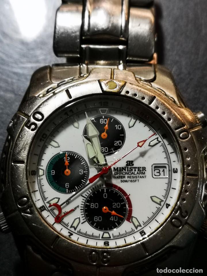 Relojes: reloj minister 50m chronoalarm - Foto 2 - 194533956