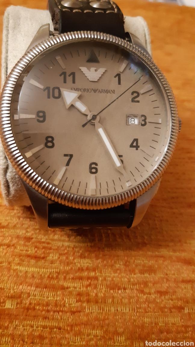 Relojes: Reloj emporio Armani -clasiques - ar - 0513 hombre -2011 - 5 cm de diametro - Foto 2 - 194534667