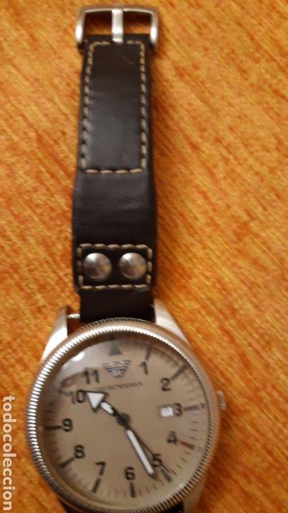 Relojes: Reloj emporio Armani -clasiques - ar - 0513 hombre -2011 - 5 cm de diametro - Foto 6 - 194534667