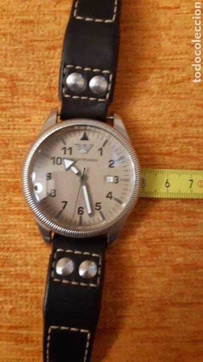 Relojes: Reloj emporio Armani -clasiques - ar - 0513 hombre -2011 - 5 cm de diametro - Foto 8 - 194534667