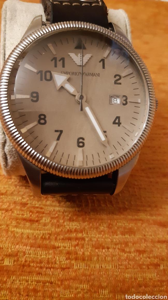 RELOJ EMPORIO ARMANI -CLASIQUES - AR - 0513 HOMBRE -2011 - 5 CM DE DIAMETRO (Relojes - Relojes Actuales - Otros)