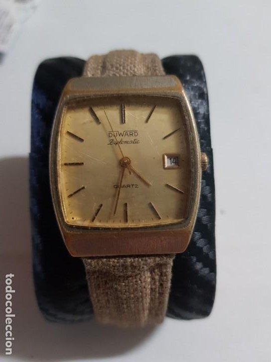 DUWARD DIPLOMATIC 34 MMS QUARZO ESTADO NORMAL MAS ARTICULOS (Relojes - Relojes Actuales - Otros)