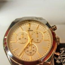 Relojes: IMPRESIONANTE RELOJ SWSS FESTINA MULTIFUNCION CUARZO NUEVO SIN ESTRENAR FUNCIONA PERFECTAM DIÁME 45M. Lote 194577548