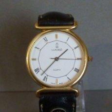 Relojes: RELOJ LLADRO CUARZO CABALLERO CHAPADO EN ORO. Lote 194680235