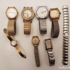 Relojes: LOTE RELOJES PARA REPARAR, (ALGUNOS FUNCIONAN). Lote 194707250