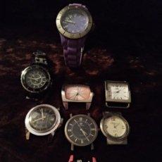 Relojes: LOTE DE RELOJES DE PULSERA. INTERESANTE.. Lote 194716453