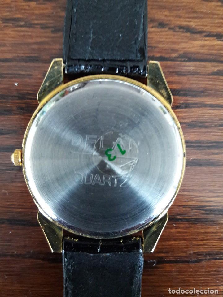 Relojes: RELOJ DE CABALLERO, DORADO, NUEVO A ESTRENAR. - Foto 5 - 194869138