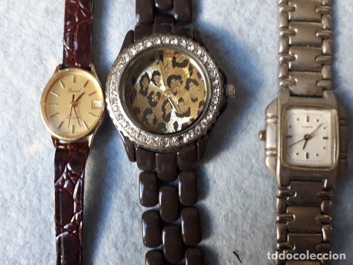 Relojes: Lote de 8 Relojes de cuarzo para Dama - Foto 2 - 194871772