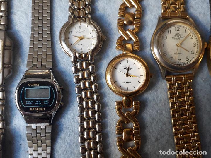 Relojes: Lote de 8 Relojes de cuarzo para Dama - Foto 3 - 194871772