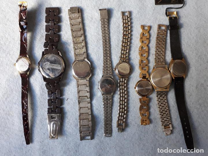Relojes: Lote de 8 Relojes de cuarzo para Dama - Foto 5 - 194871772