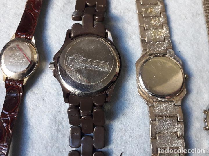 Relojes: Lote de 8 Relojes de cuarzo para Dama - Foto 6 - 194871772