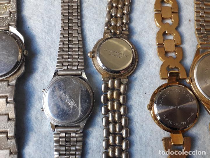 Relojes: Lote de 8 Relojes de cuarzo para Dama - Foto 7 - 194871772