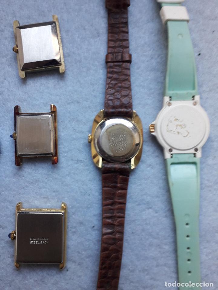 Relojes: Lote de 10 Relojes de cuarzo para Dama - Foto 14 - 194871993