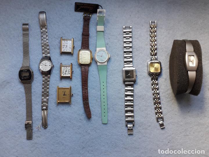 LOTE DE 10 RELOJES DE CUARZO PARA DAMA (Relojes - Relojes Actuales - Otros)