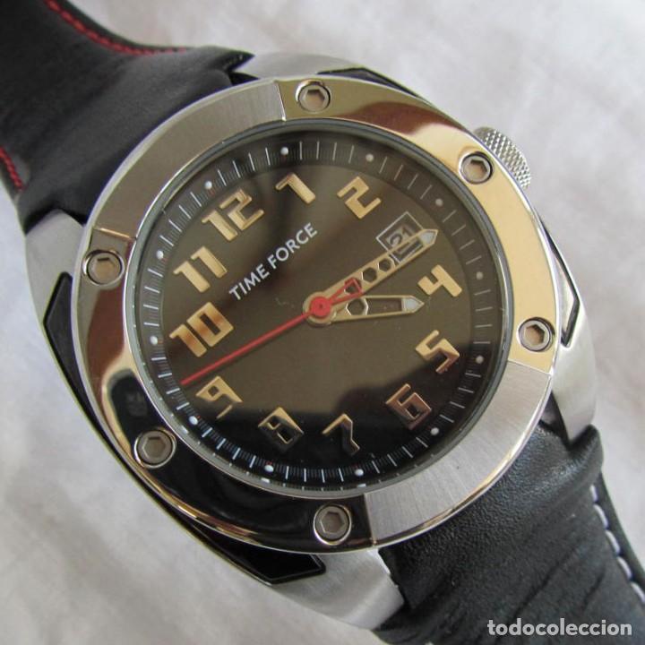 RELOJ TIME FORCE COMO NUEVO (Relojes - Relojes Actuales - Otros)