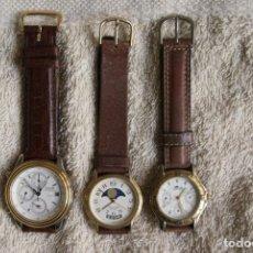 Relojes: LOTE DE 3 RELOJES RACER LOTUS Y THERMIDOR CUARZO F25. Lote 195108632