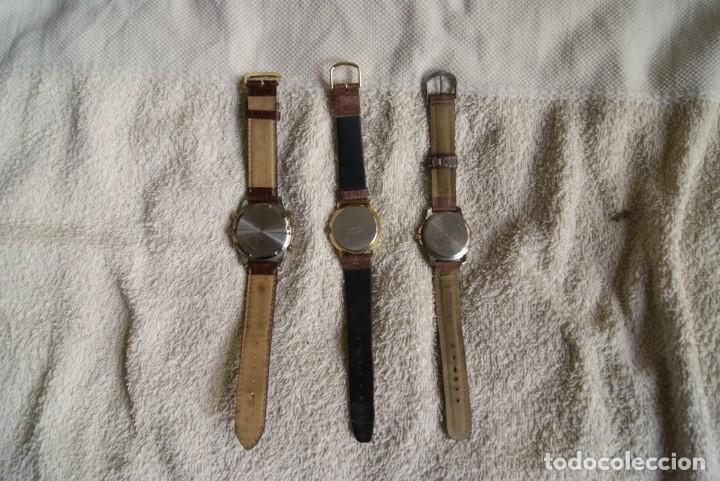 Relojes: LOTE DE 3 RELOJES RACER LOTUS Y THERMIDOR CUARZO F25 - Foto 2 - 195108632