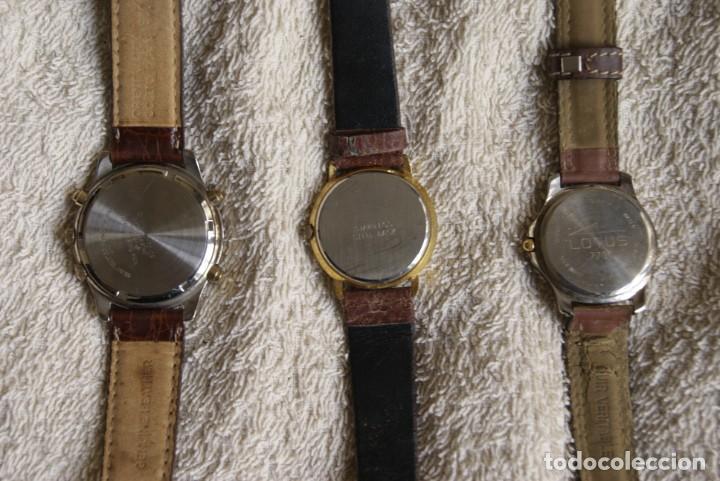 Relojes: LOTE DE 3 RELOJES RACER LOTUS Y THERMIDOR CUARZO F25 - Foto 3 - 195108632