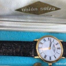 Relojes: RELOJ QUARZO MUJER UNION SUIZA . Lote 195113365
