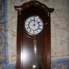 Relojes: RELOJ DE PARED DE CARRILLON CON SONERIA HERMLE NO FUNCIONA LEER. Lote 195197328