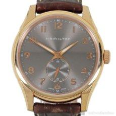 Relojes: HAMILTON 980.163 CUARZO DORADO. Lote 195225621
