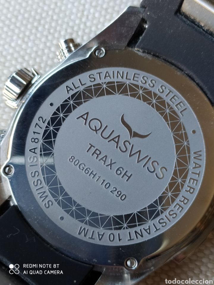 Relojes: Reloj AQUASWISS cronometro de cuarzo - Foto 8 - 195306007