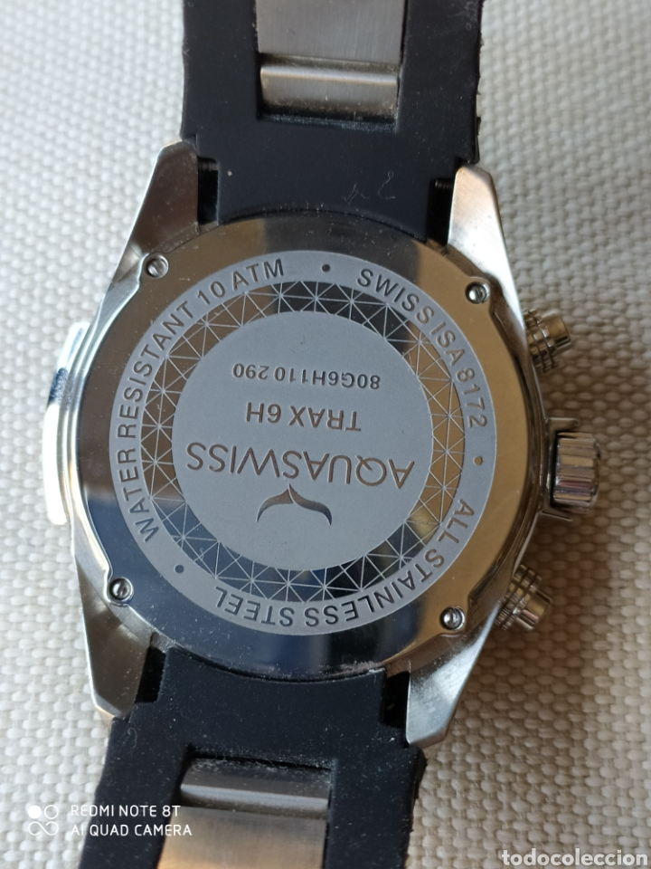 Relojes: Reloj AQUASWISS cronometro de cuarzo - Foto 10 - 195306007