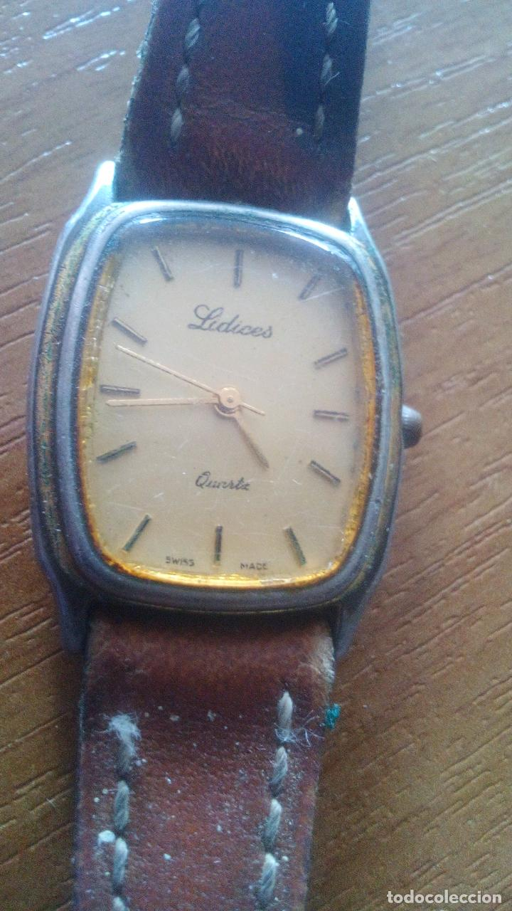 Relojes: RARO RELOJ LIDICES - SWISS MADE - Foto 3 - 195317728