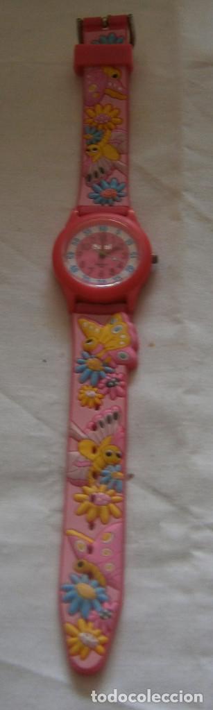 Relojes: reloj sami de niña correa de goma original - Foto 2 - 195338616