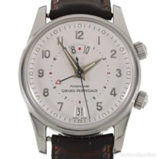 Relojes: GIRARD-PERREGAUX TIME ZONE-ALARM AUTOMATIC REF. 4940. Lote 195384700