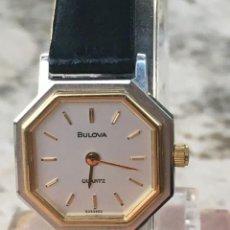 Relojes: RELOJ BULOVA CUARZO MUJER. Lote 195421505