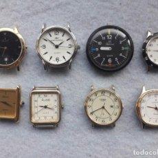 Relojes: LOTE DE 8 RELOJES DE CUARZO PARA CABALLERO. Lote 195449300