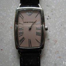Relojes: ESTUPENDO RELOJ DE SEÑORA EMPORIO ARMANI TODO ORIGINAL PILA NUEVA BUEN ESTADO. Lote 195471175