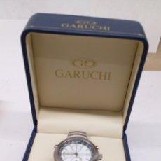 Relojes: RELOJ GARUCHI CHRONOGRAPH Y ALARMA EN FUNCIONAMIENTO. Lote 195505616