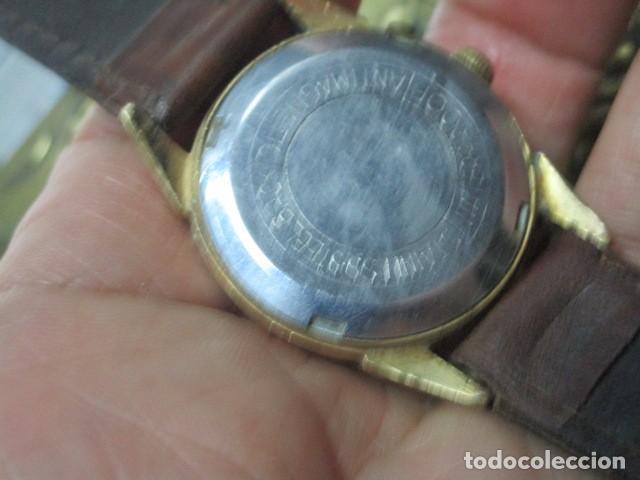 Relojes: PHILIPPE PRECISION 21 RUBIES DOS SELLOS RELOJ PULSERA GRANDE PLACA DE ORO 2º GUERRA MUNDIAL SS - Foto 16 - 203962485