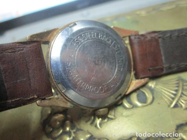 Relojes: PHILIPPE PRECISION 21 RUBIES DOS SELLOS RELOJ PULSERA GRANDE PLACA DE ORO 2º GUERRA MUNDIAL SS - Foto 23 - 203962485