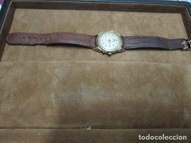 Relojes: PHILIPPE PRECISION 21 RUBIES DOS SELLOS RELOJ PULSERA GRANDE PLACA DE ORO 2º GUERRA MUNDIAL SS - Foto 34 - 203962485