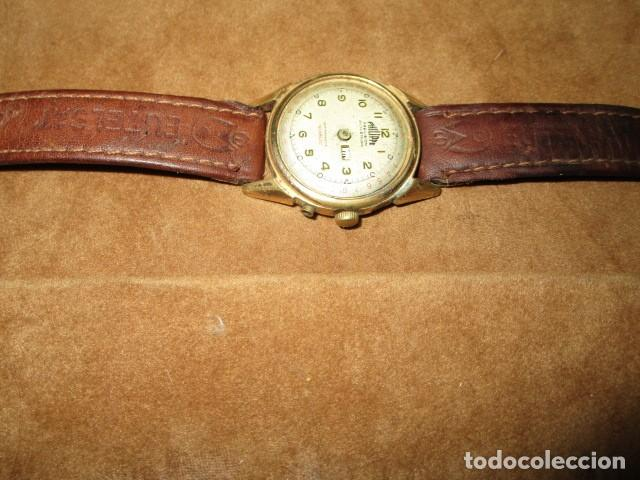 Relojes: PHILIPPE PRECISION 21 RUBIES DOS SELLOS RELOJ PULSERA GRANDE PLACA DE ORO 2º GUERRA MUNDIAL SS - Foto 21 - 203962485