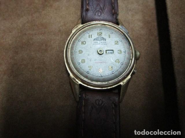 Relojes: PHILIPPE PRECISION 21 RUBIES DOS SELLOS RELOJ PULSERA GRANDE PLACA DE ORO 2º GUERRA MUNDIAL SS - Foto 38 - 203962485
