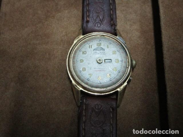 Relojes: PHILIPPE PRECISION 21 RUBIES DOS SELLOS RELOJ PULSERA GRANDE PLACA DE ORO 2º GUERRA MUNDIAL SS - Foto 40 - 203962485