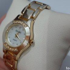 Relojes: RELOJ OMAKI ANACARDO ACERO INOXIDABLE TRASERO NO.RF8433. EN BUEN ESTADO FUNCIONANDO.. Lote 195822693