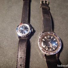 Relojes: LOTE 2 RELOJES DIVER. Lote 196084336