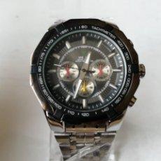 Relojes: RELOJ DE PULSERA CON ARMIS DE METAL.QUARTZ.. Lote 196094652