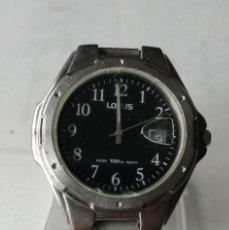 Relojes: RELOJ DE PULSERA LORUS QUARTZ .ARMIS DE METAL.. Lote 196112527
