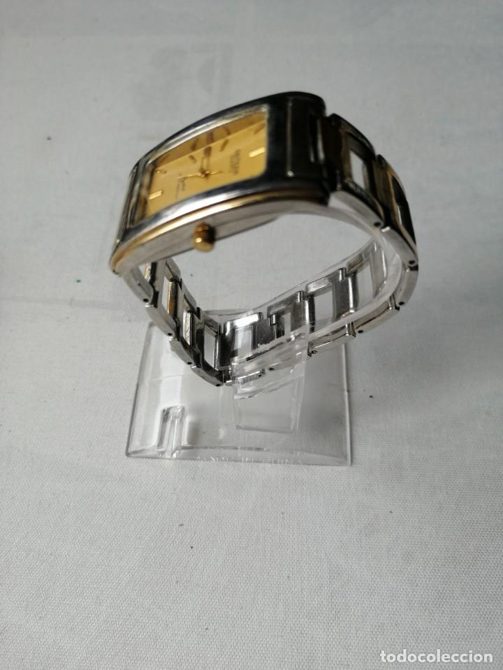 Relojes: RELOJ DE SEÑORA GEITEZIN.JAPAN MOVT,QUARTZ.ARMIS DE METAL. - Foto 3 - 196131045