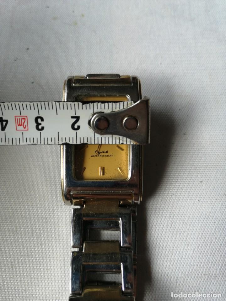 Relojes: RELOJ DE SEÑORA GEITEZIN.JAPAN MOVT,QUARTZ.ARMIS DE METAL. - Foto 6 - 196131045
